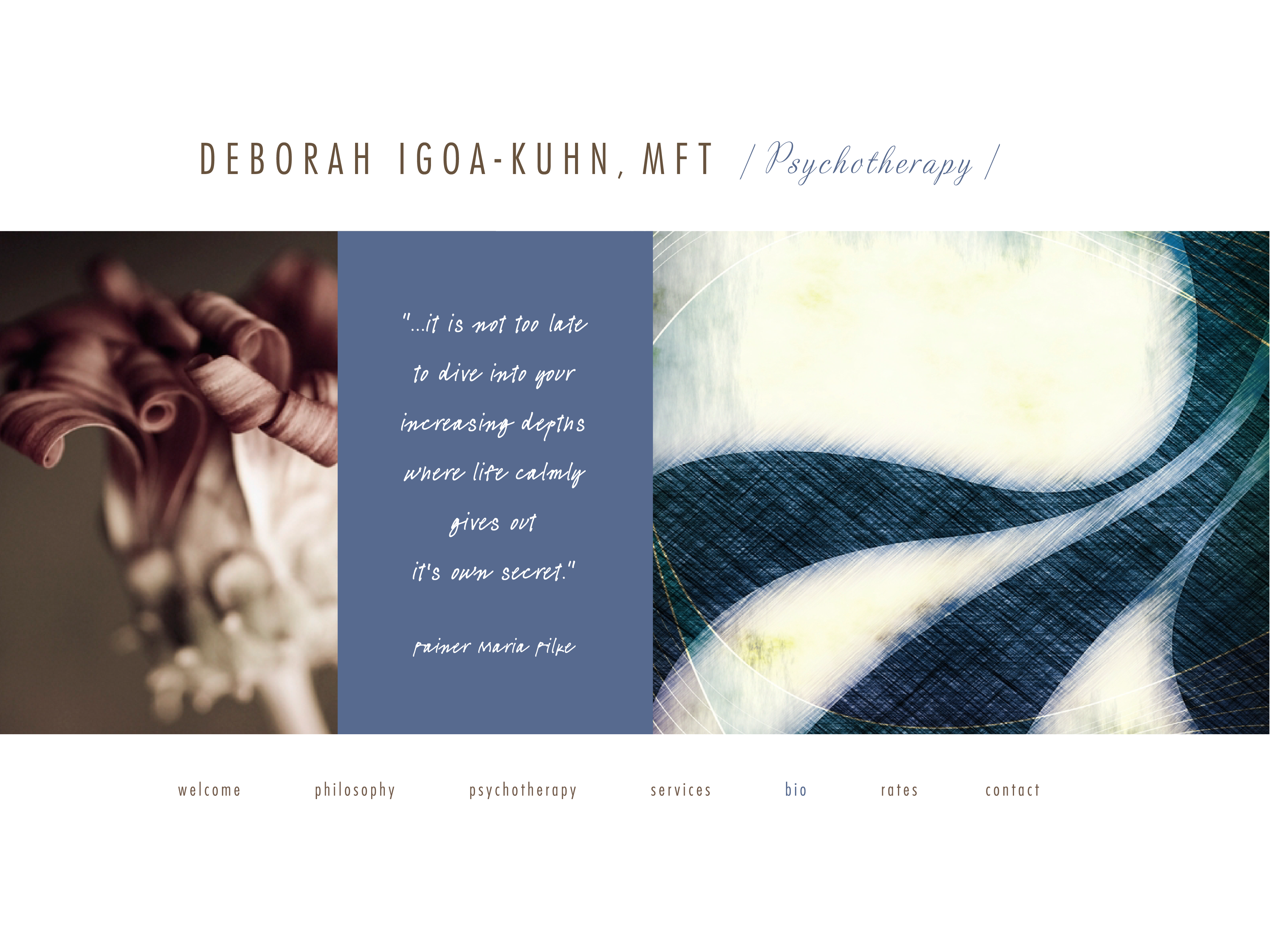 DEBORAH IGOA-KUHN, MFT