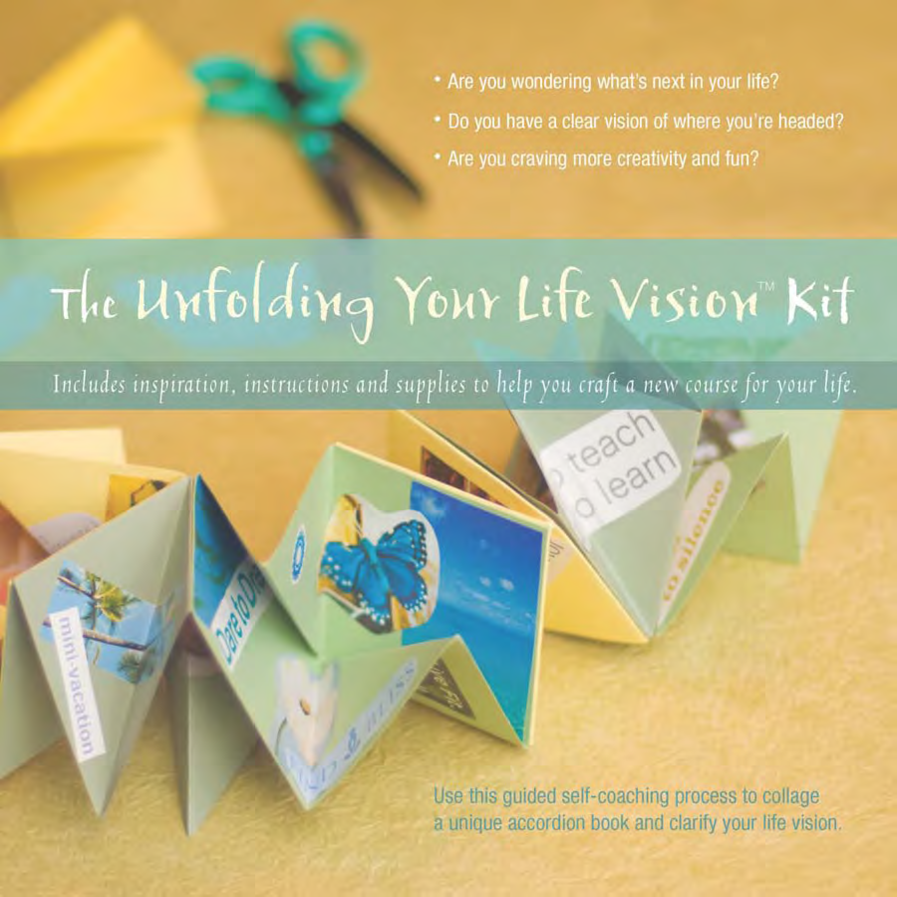 Unfolding Your Life Vision Kit