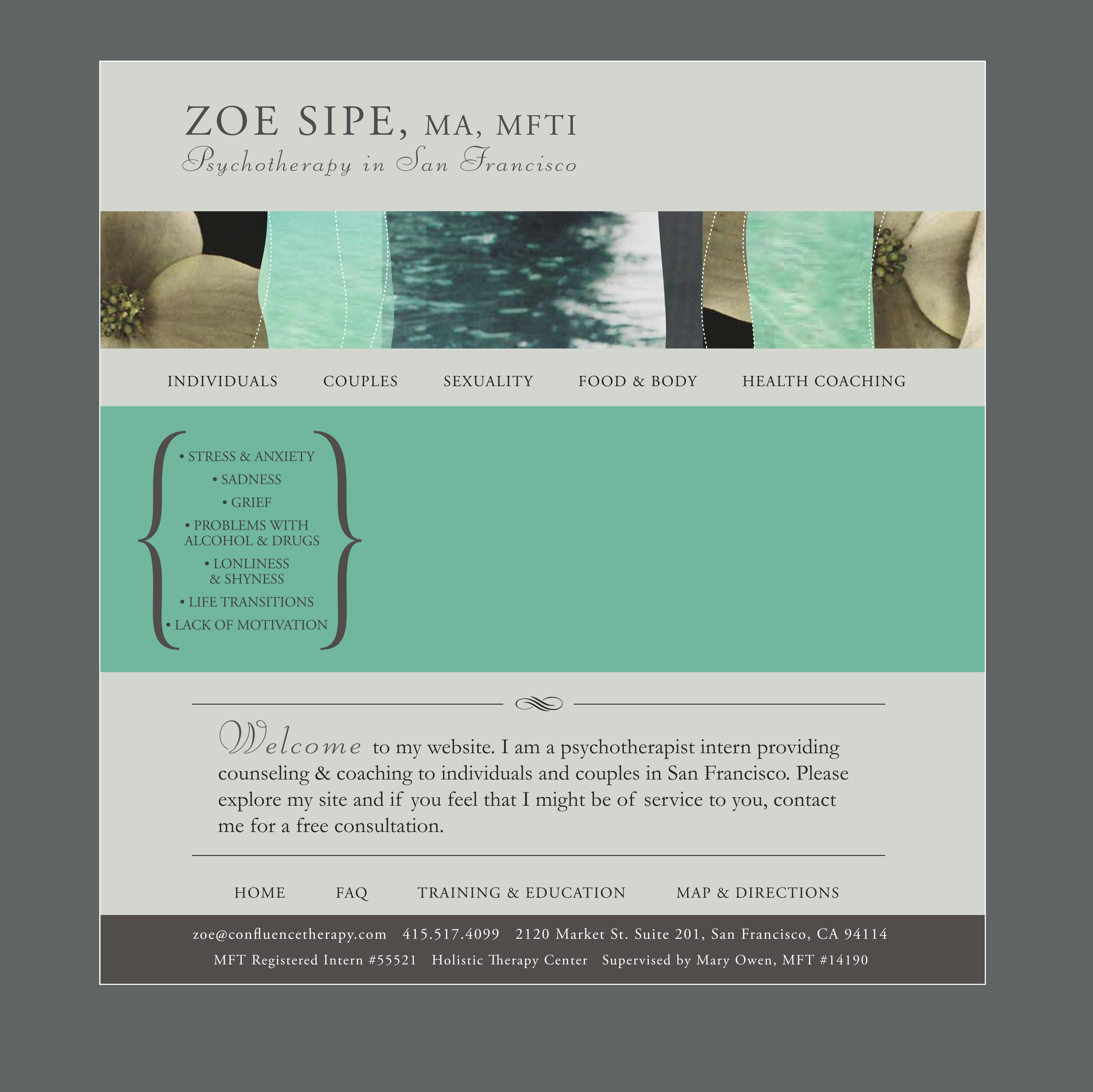 Zoe Sipe, MFT